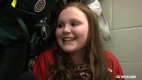 Jordan Leopold's Daughter Celebrates His Return Home