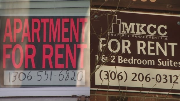 The vacancy rate in Regina, from a renter's point of view, has improved.
