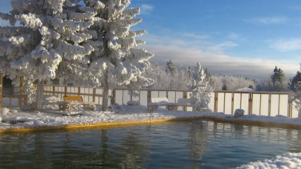 The manager of the Takhini Hot Pools estimates there are 12 hot springs in the Yukon.