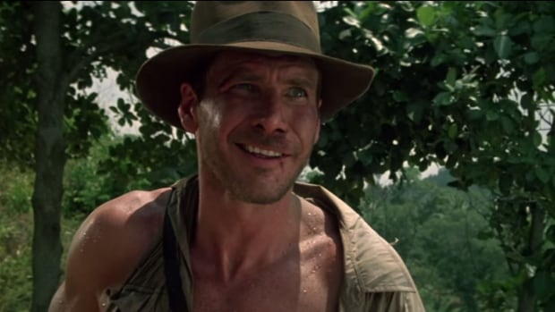 Harrison ford seen here in a scene from paramount s indiana jones and