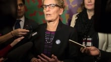 Kathleen Wynne vows to end sexual violence, harassment in Ontario