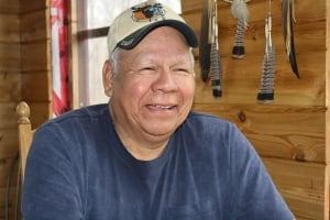 Chief Wayne Pamajewon of Shawanaga First Nation