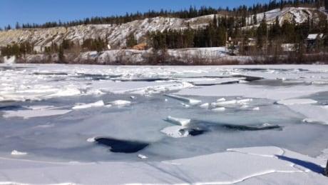 Yukon River ice