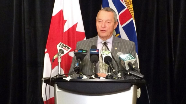 B.C. Education Minister Peter Fassbender responded to concerns about delays for seismic upgrades for schools on Friday morning.