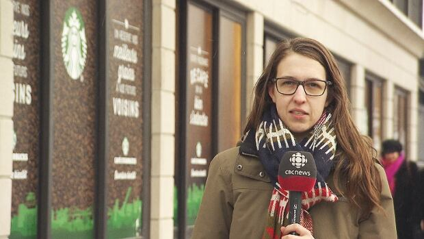 A Starbucks next to Jean-Talon Market? CBC's Sarah Leavitt asked people what they thought about the market's new neighbour.