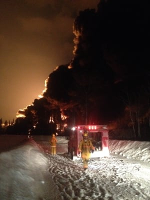Gogama firefighters