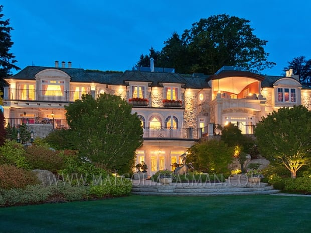 The mansion in Vancouver's Point Grey neighbourhood sold for $51.8 million in December.
