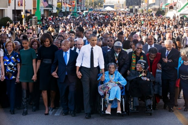 APTOPIX Obama Selma 50th