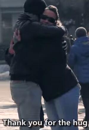Blind Trust Hug Muslim 2