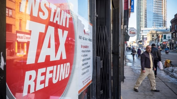 Close to 800,000 Canadians chose to pay a fee and get an instant tax refund in 2014 rather than wait the roughly eight days to two weeks it takes the Canada Revenue Agency to issue a refund.  Instant refunds come at a cost, but the fee can often be cheaper than what you'd normally pay to get your taxes done.