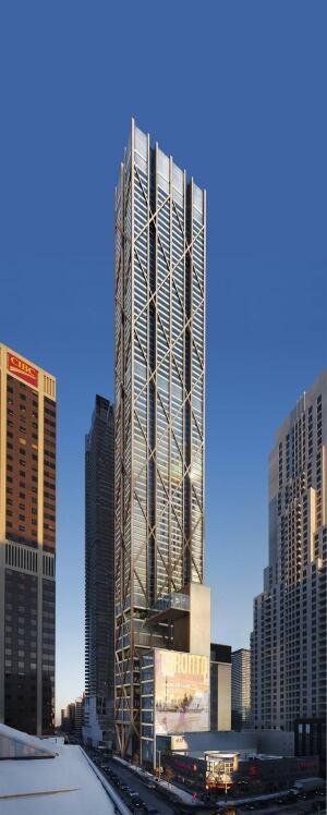 Toronto The One condo tower
