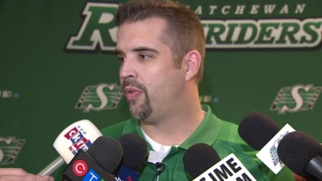 Jeremy O'Day, assistant general manager of the Saskatchewan Roughriders