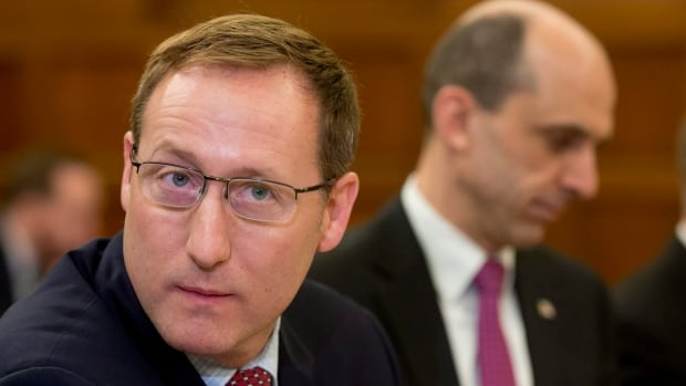 Justice Minsiter Peter MacKay and Public Safety Minister Steven Blaney appear on Tuesday at the Commons public safety committee hearing witnesses on Bill C-51. The government shows no sign of contemplating amendments to the bill.