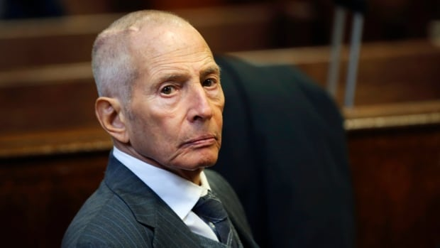 Real estate heir Robert Durst appears in a New York court in December 2014. The 72-year-old millionaire faces a 1st-degree murder charge in California and charges in Louisiana linked to his arrest last month in New Orleans.