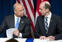 Jeh Johnson, Steven Blaney sign US-Canada border deal