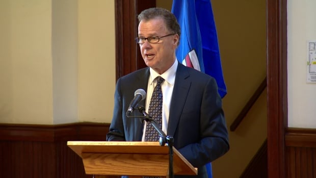 Alberta's education minister, Gordon Dirks, announced grade 12 final exams will now be worth 30 per cent of a student's mark.