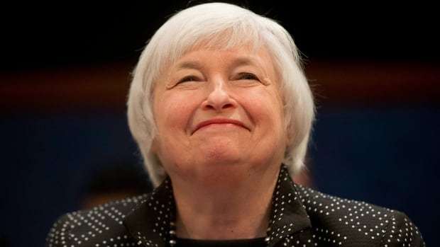Janet Yellen spoke to a New York business audience on Tuesday.