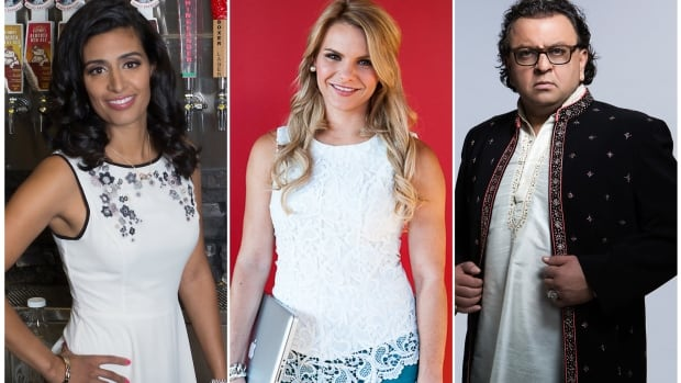 New Dragons' Den personalities Manjit Minhas and Michele Romanow are joining the show as food magnate Vikram Vij departs the show.