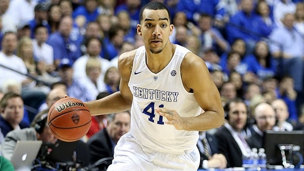 Saskatoon's Trey Lyles is averaging 8.4 points and 5.4 rebounds in 22.3 minutes as part of the deep rotation of unbeaten Kentucky.