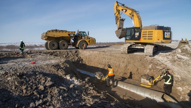 Progress is notably slower on the Inuvik side of the highway, where crews have been slowed by weather and more challenging terrain. Residents of Tuktoyaktuk say they're concerned about the cost of the project and whether hiring practices are fair.