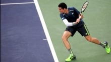 Milos Raonic defeats Tommy Robredo in 4th round at Indian Wells