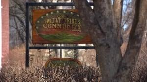 Twelve Tribes sign, Winnipeg