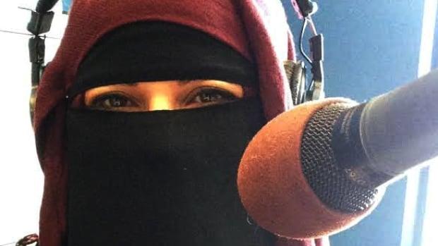 Panelist Rezan Mosa in our CBC London studio.