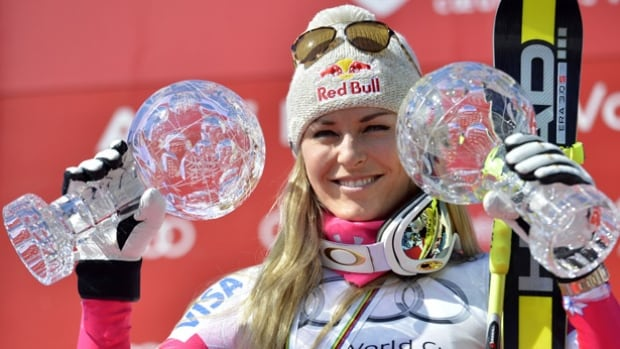 U.S. skier Lindsey Vonn will need two good runs on Saturday in Austria to match the record for most downhill wins on the women's World Cup circuit. For the first time in 14 years, a women's downhill has been changed from one long ride to two short runs because snow conditions forced organizers to lower the start. A win Saturday and Vonn would match Austrian great Annemarie Moser-Proell's record of 36 downhill victories.
