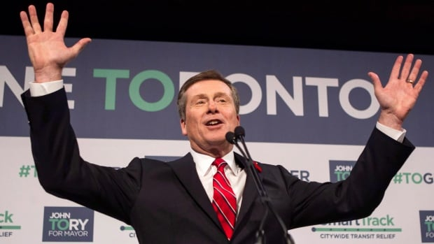John Tory said Toronto may need to consider relaxing some of its policies around issues like food trucks and the handling of live music if it wants to be as 'hip' as Austin, Texas, the home of the South by Southwest festival.