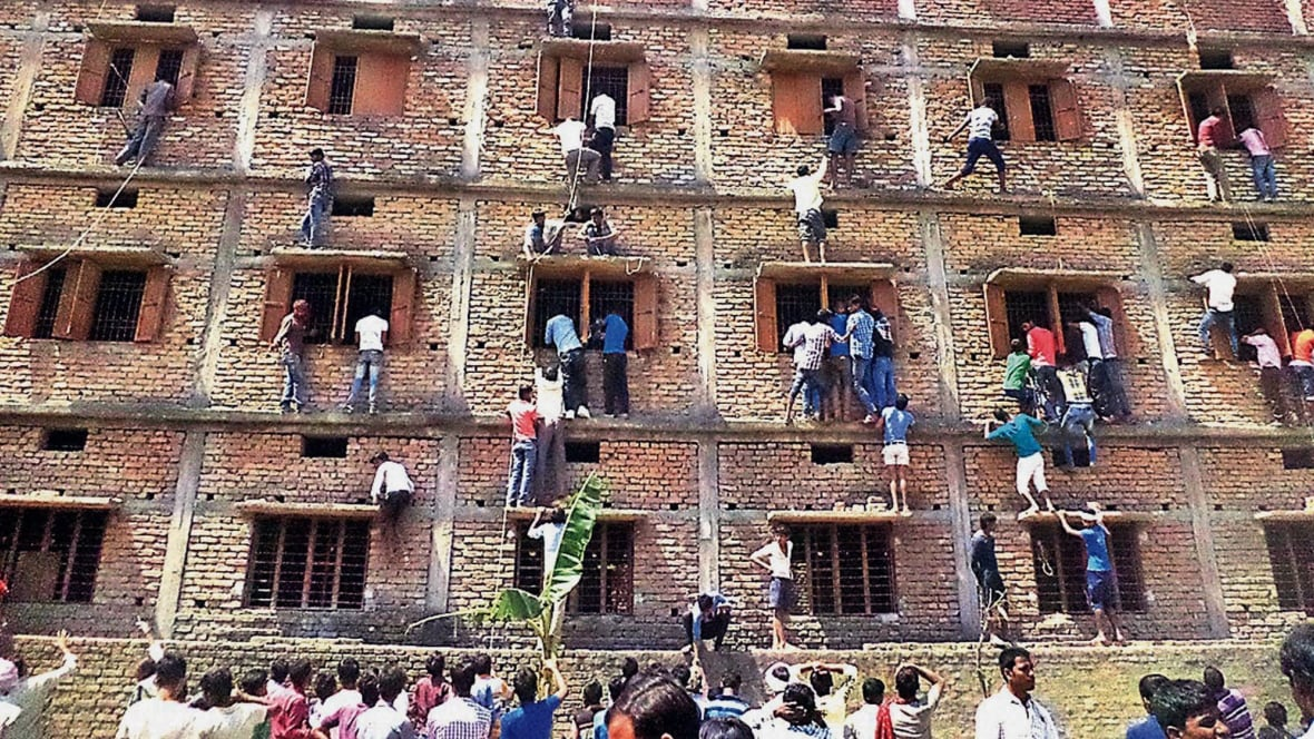 A really bad school cheating incident.?