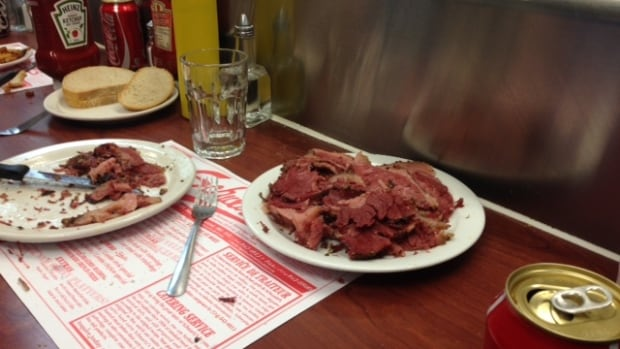 Schwartz's classic smoked meat sandwich has nearly doubled in price over the last two years.