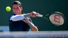 Milos Raonic defeats Rafael Nadal in quarter-finals at Indian Wells