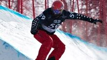 Canada's Christopher Robanske tops snowboardcross field