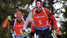 Nathan Smith breaks through for first biathlon victory