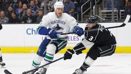 Canucks Maintain Playoff Position With Win Over Kings