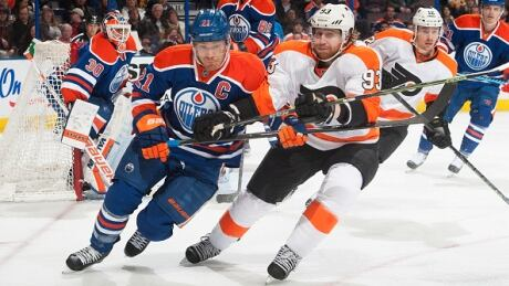 Oilers Outlast Flyers In Overtime Win