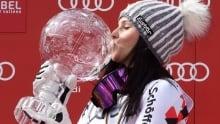 Austria's Anna Fenninger defends dual alpine titles