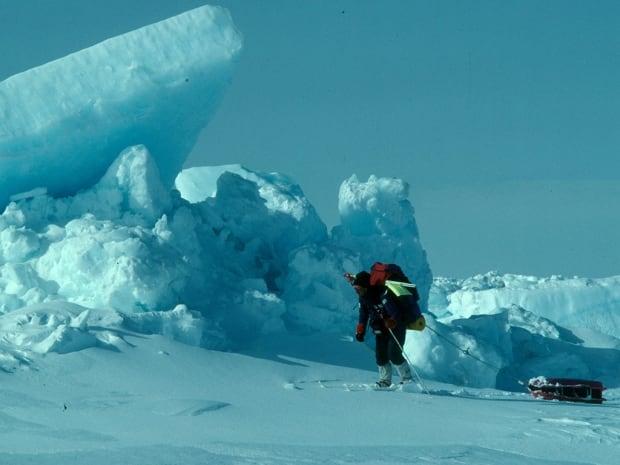 Richard Weber skiing: version 2