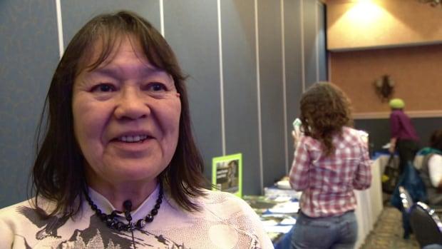 Jean Van Bibber of the Selkirk First Nation says people in Pelly Crossing are growing seedlings in the foyer of the school.