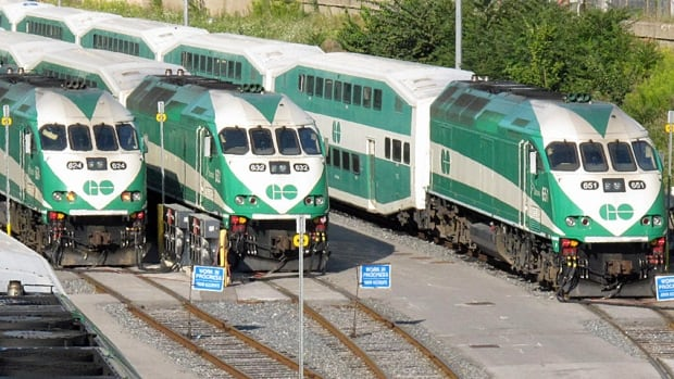 GO Transit Train Locomotives