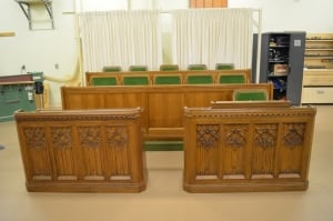 New House of Commons seating prototypes