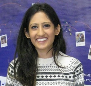 Laurier Communications grad Priya Patel volunteers 20 hrs/week