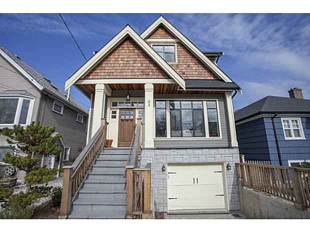 This Vancouver house, at 65 E 26th Avenue, sold for $567,000 over the listed asking price of $1.6 million.