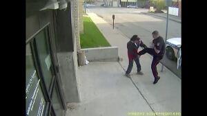 Rob Power, Regina, security footage
