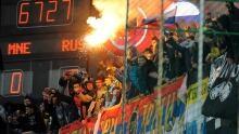 Montenegro soccer fans blamed for violence in Euro qualifier
