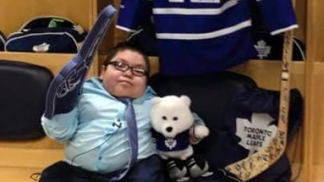 Maple Leafs Grant Wish For Garrett Gamble, 11, From Sask. First Nation