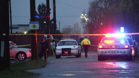 Burnaby multiple stabbing, police involved