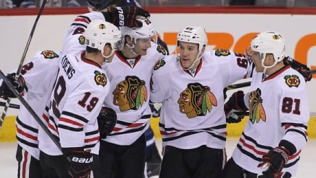 Toews, Blackhawks Deal Tough Loss To Jets