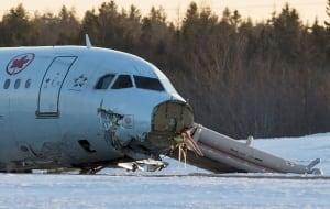 AC624 crashed in March 2015.