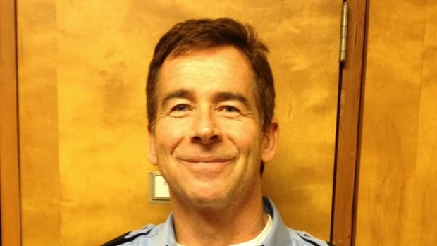 A memorial service was held Monday for Kevin Hegarty, the former Surrey firefighter who died after a battle with post-traumatic stress disorder.